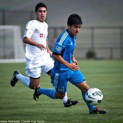 Earthquakes Academy U18  2-0  Crossfire Premier U18