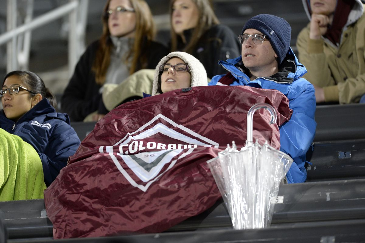 Stay warm, Rapids fans--and get fired up!