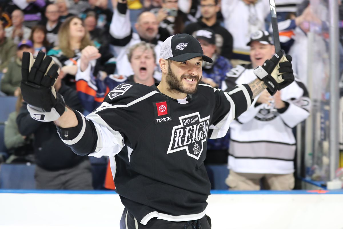 Ontario Reign forward Martin Frk sets new AHL record with 109.2 mph shot