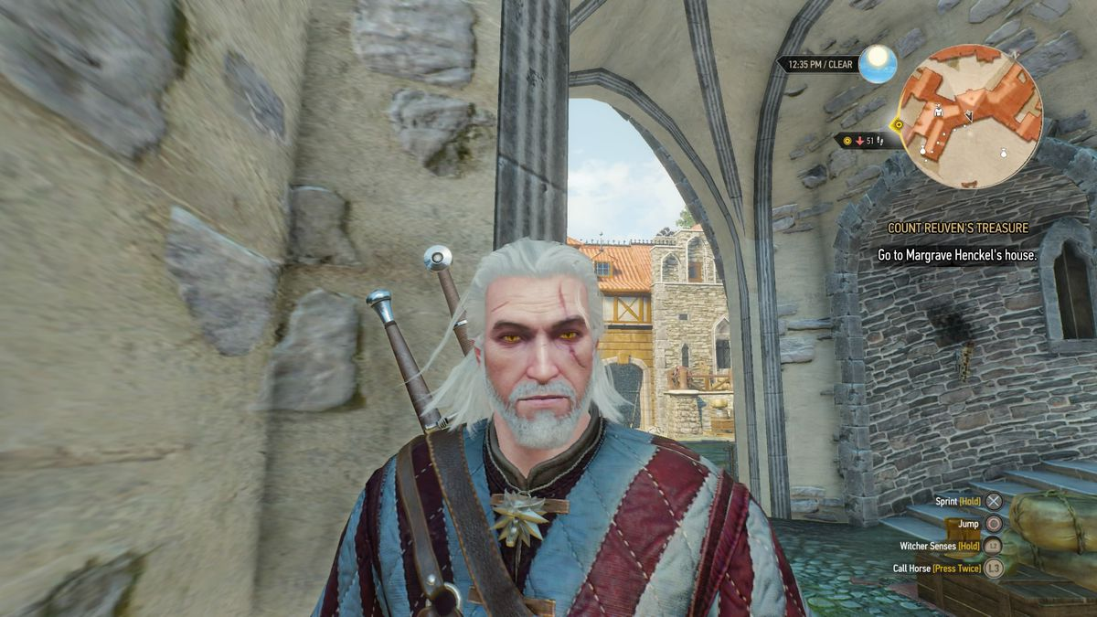 The Witcher 3 beard