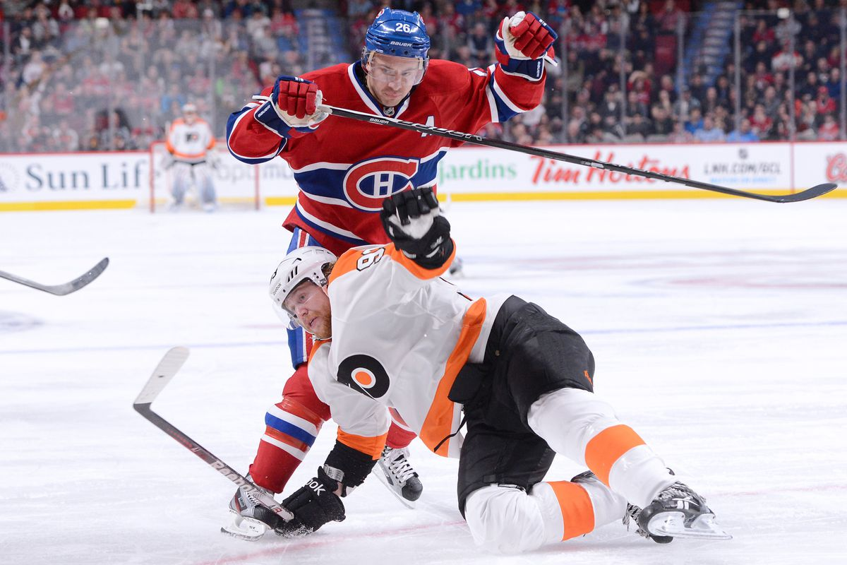Just keep falling and you'll get on the ice more, Jake. Worked for Hartnell.
