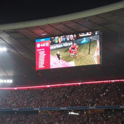 The whole stadium erupted when Basti scored. The players tossed him in the air like a trophy...