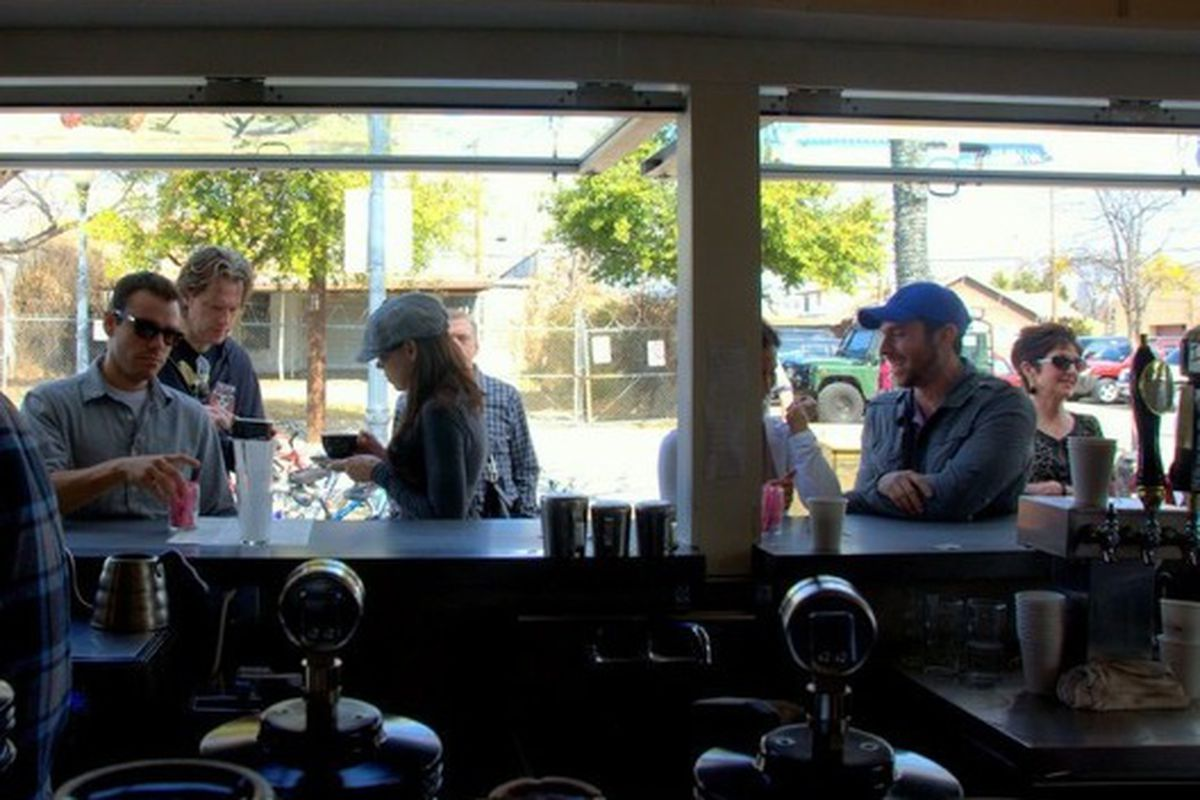 The Oddfellows serving window.