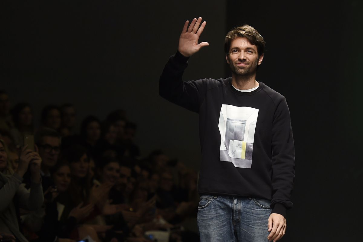 Massimo Giorgetti for MSGM. Photo: Getty Images