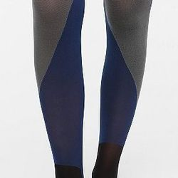 """Urban Outfitters Color Block Tights, <a href=""""http://www.urbanoutfitters.com/urban/catalog/productdetail.jsp?id=25684671&parentid=W_ACC_TIGHTS"""">$14</a>"""