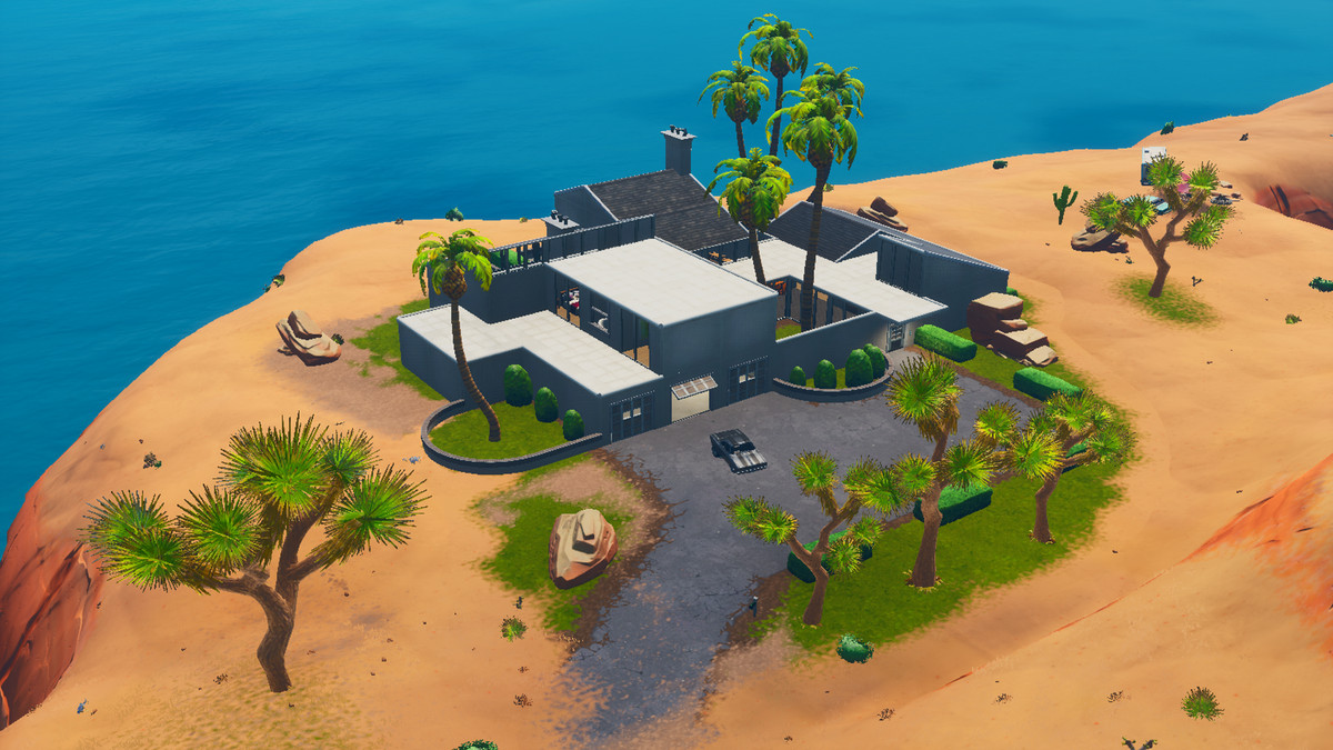 John Wick's house appears in Fortnite, in time for Parabellum's release