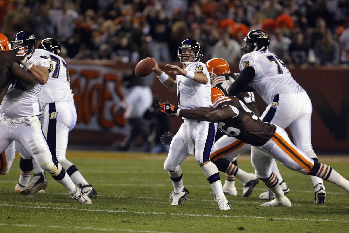 Ravens v Browns