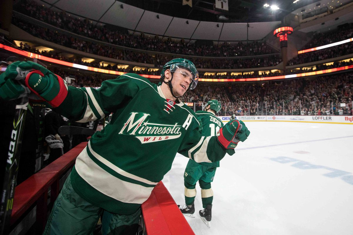 Zack Parise has only eight more years on his deal.