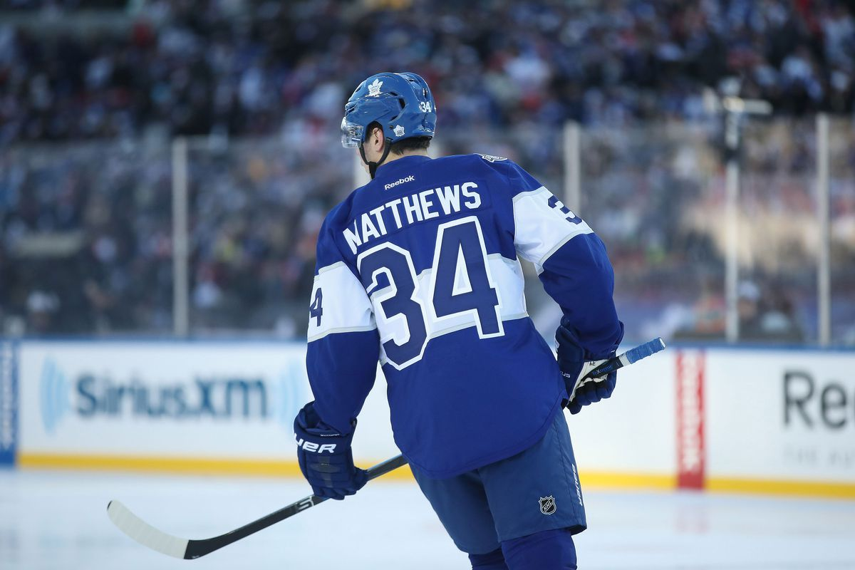best website a30a7 87053 Maple Leafs jerseys for Stadium Series game leaked - Pension ...