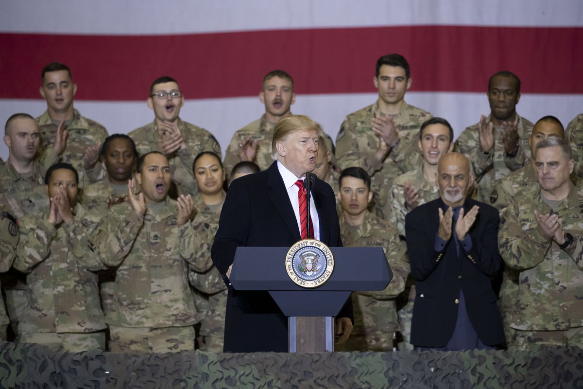 President Donald Trump made a surprise visit to Afghanistan on Thanksgiving.