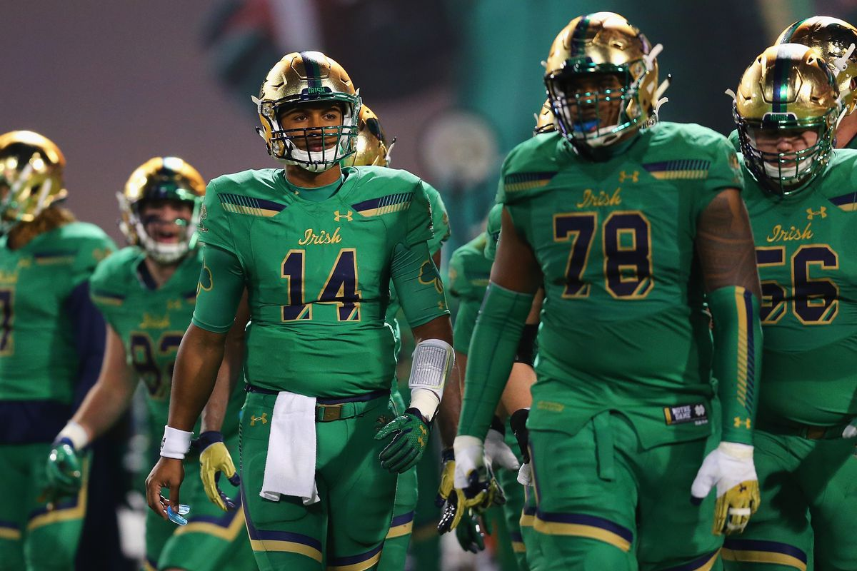 who is notre dame playing in the shamrock series