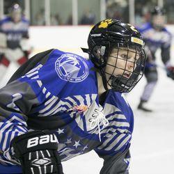 Team NWHL defender Alyssa Gagliardi.