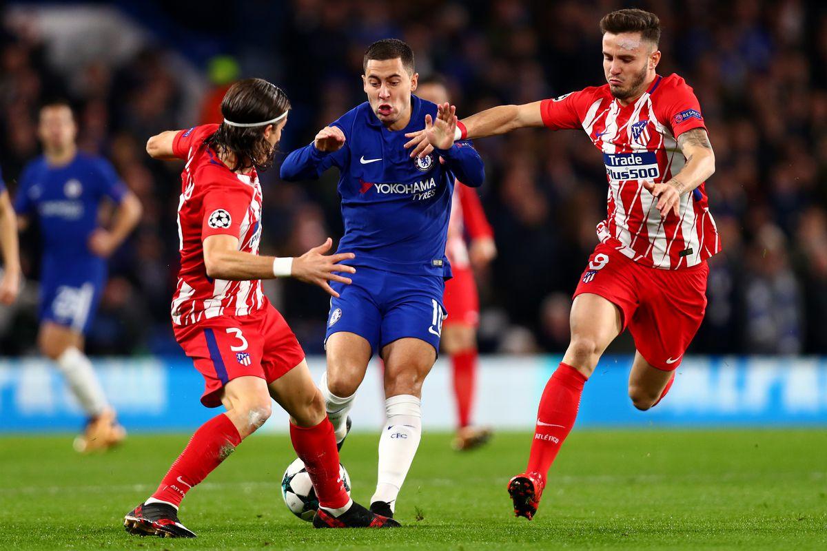 Chelsea Vs Atletico Madrid Champions League Second Half