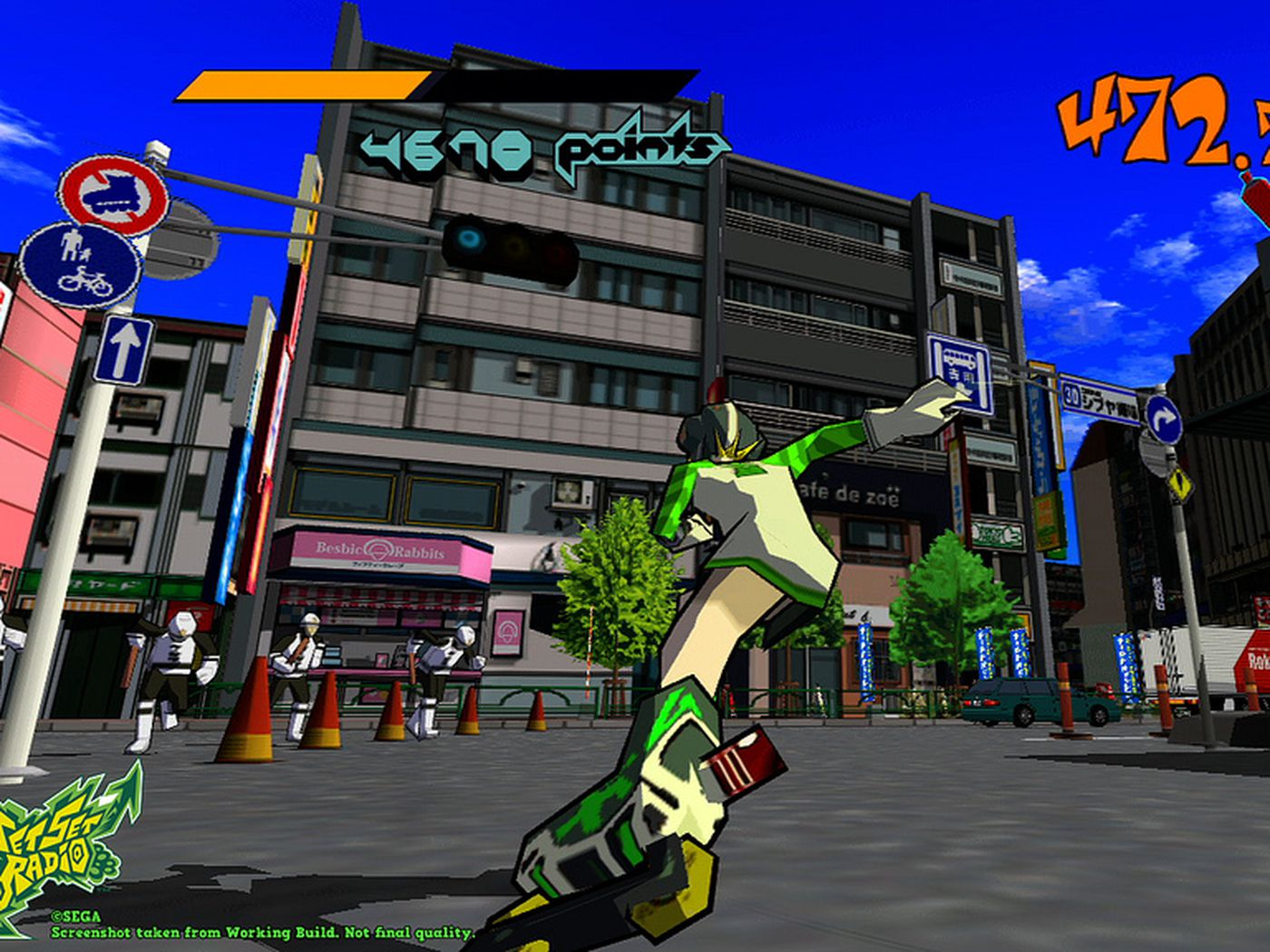 Sega S Amazing Graffiti Classic Jet Set Radio Is Free On Steam