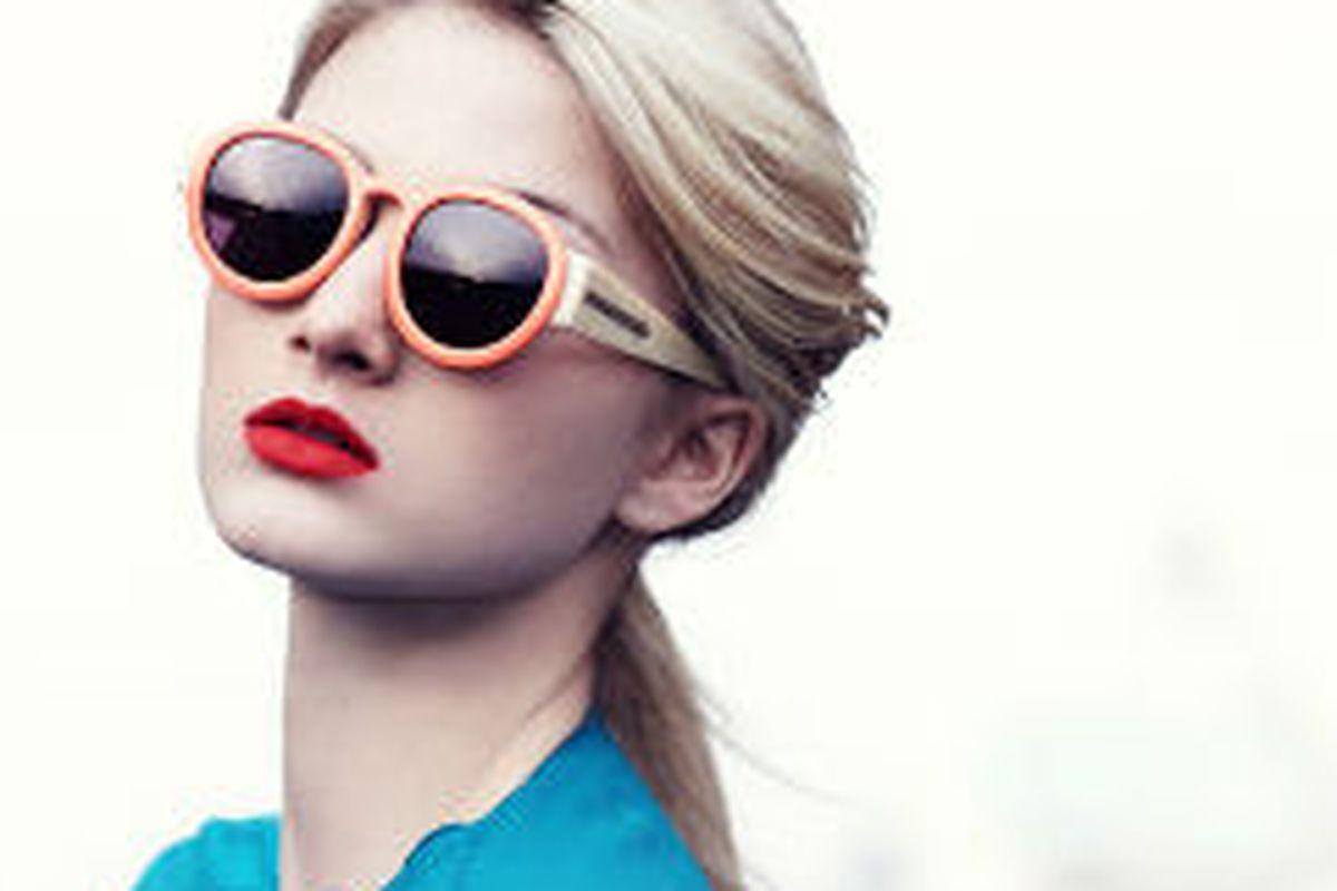 Karen Walker sunglasses today on Gilt