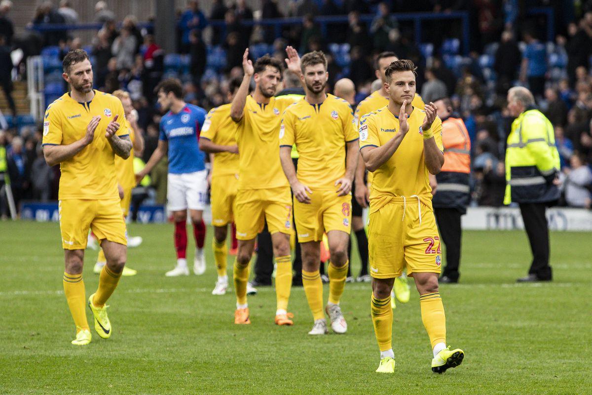 Portsmouth v Bolton Wanderers - Sky Bet League One