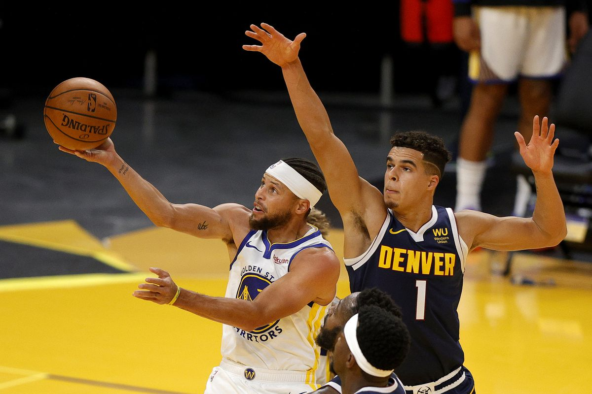 Warriors Vs Nuggets Golden State Wins Preseason Opener Golden State Of Mind