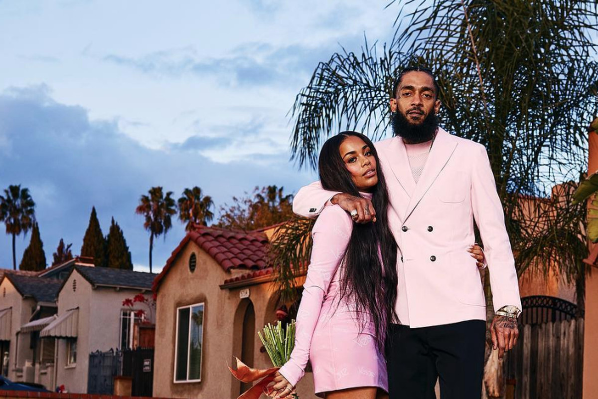 nipsey lauren london gq
