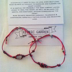 "AG love bracelets, <a href=""http://shop.atomicgardenoakland.com/products/ag-love-bracelets"">$34</a> from Atomic Garden"