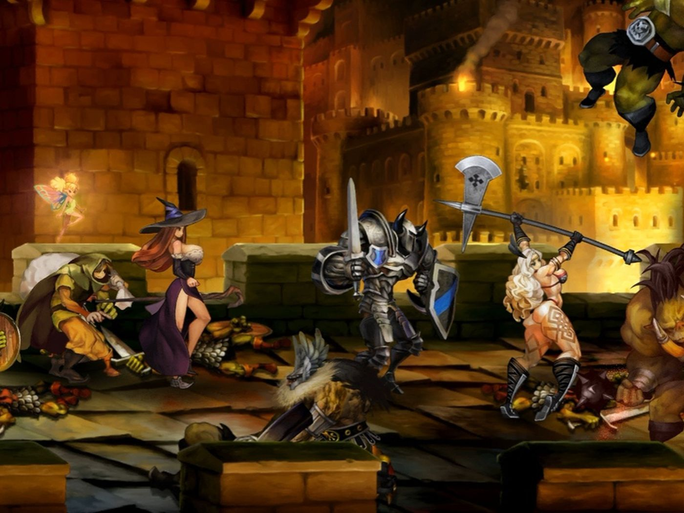 Dragon S Crown Coming To Playstation 3 And Vita This Summer Polygon