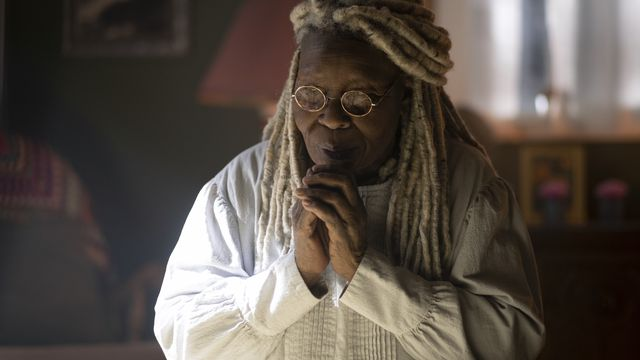 Whoopi Goldberg prays as Mother Abagail in CBS All Access' The Stand miniseries