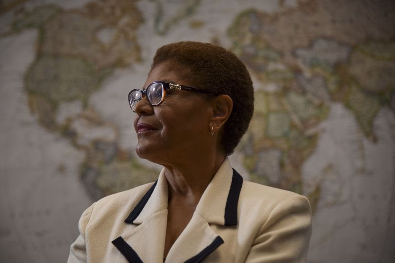 Representative Karen Bass, Potential Vice Presidential Running Mate of Joe Biden