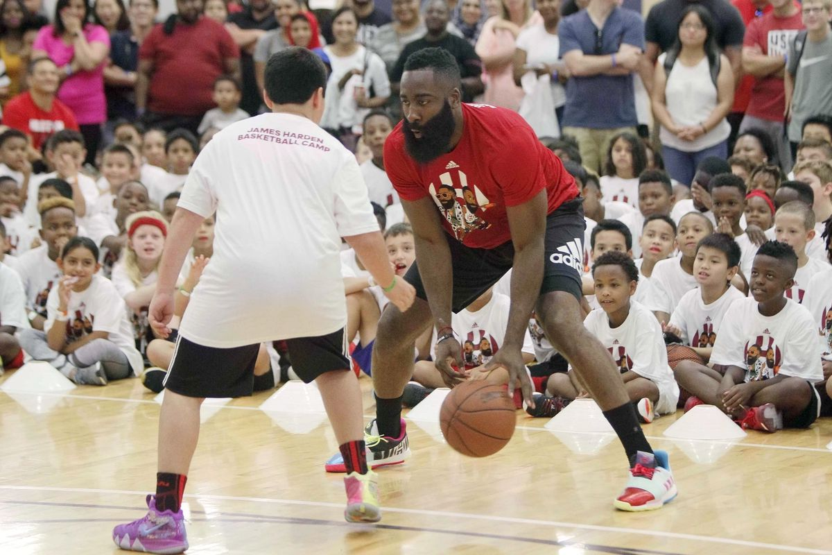 official photos abaa9 8e75e James Harden's new spinning, one-footed three will wreck the ...