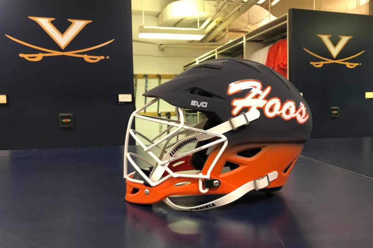 Virginia Lacrosse Debuting A New Warrior Helmet For Season