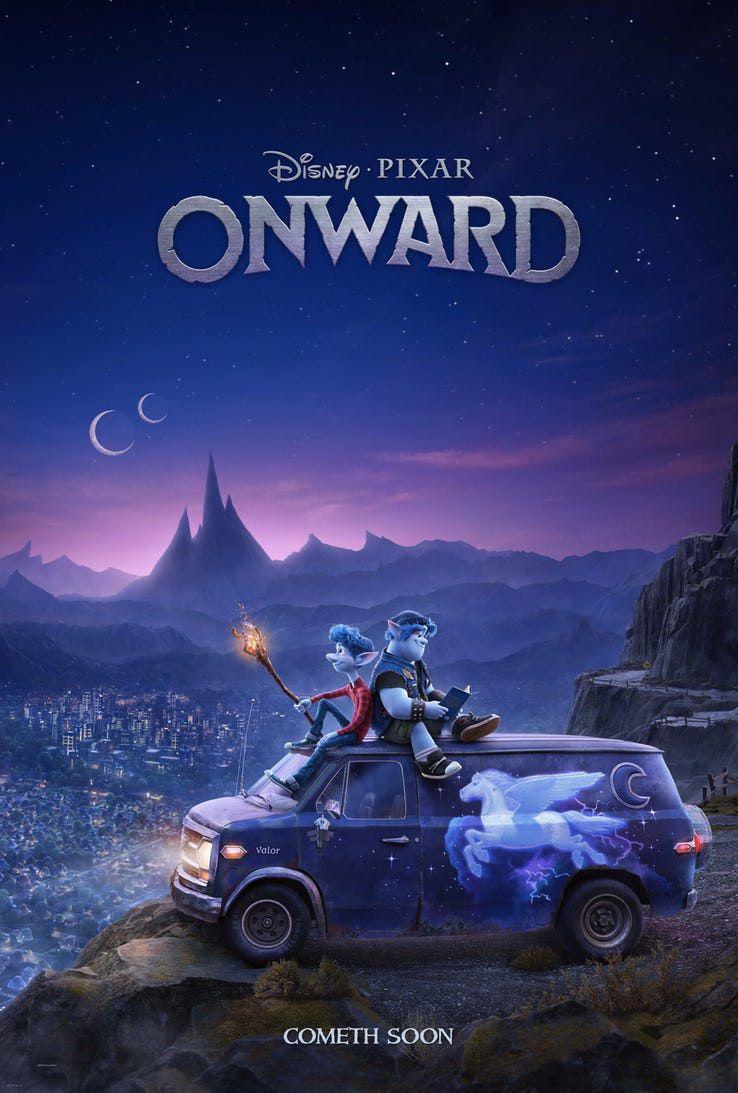 皮克斯的新电影Onward的第一部预告片想象了现代幻想世界中的精灵