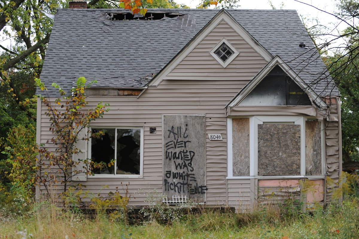Detroit has more than 80,000 properties that are vacant or in disrepair.