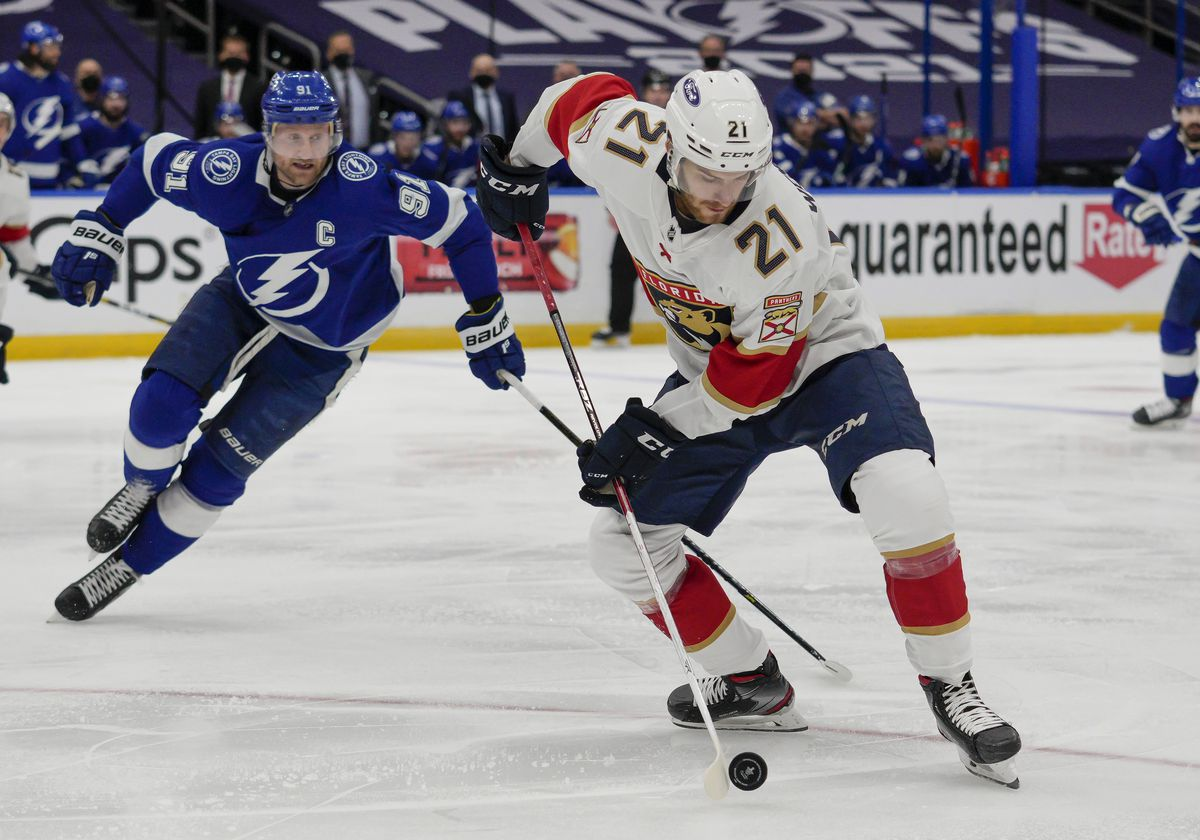 NHL: MAY 22 Stanley Cup Playoffs First Round - Panthers at Lightning