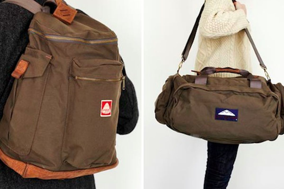 """Jansport Heritage bags, via <a href=""""http://www.coolhunting.com/travel/jansport.php"""">Cool Hunting</a>"""