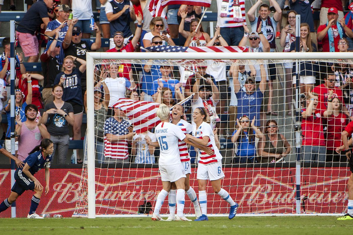 Soccer: Tournament of Nations Women's Soccer-USA at Japan