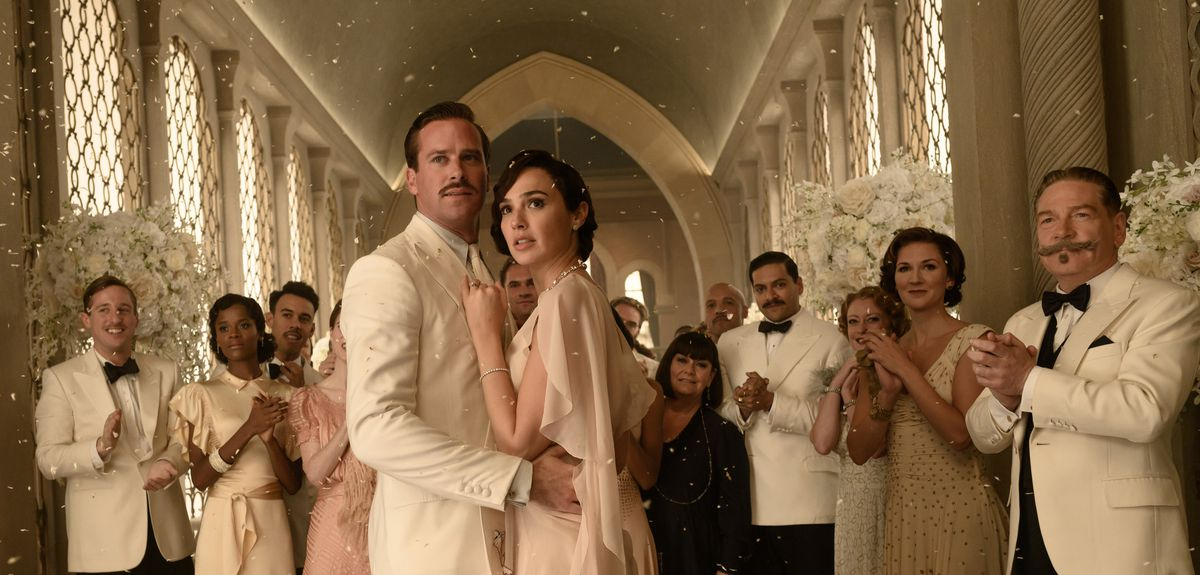 Armie Hammer and Gal Gadot in Death on the Nile