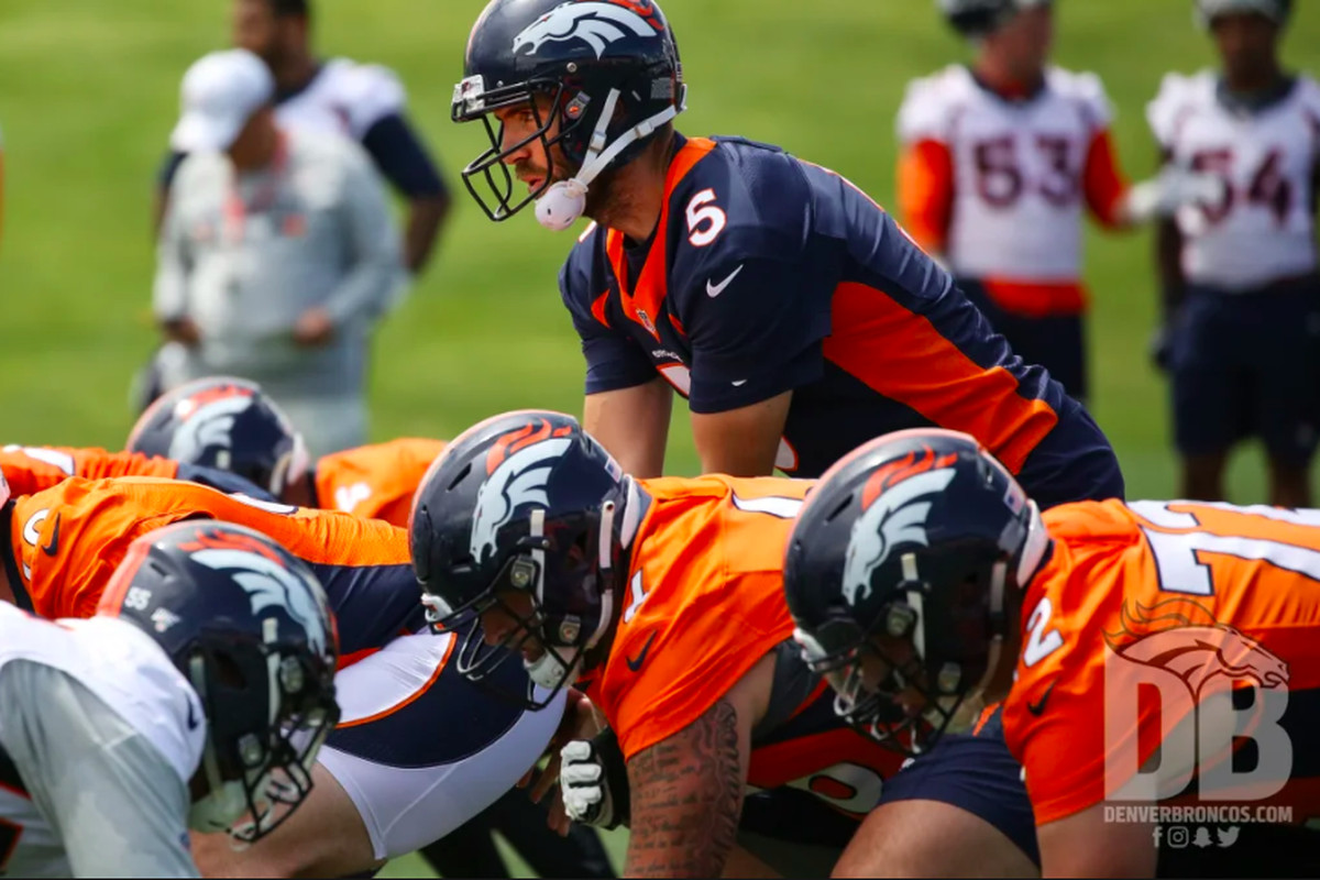 How much can this Broncos' O-line improve in 2019?
