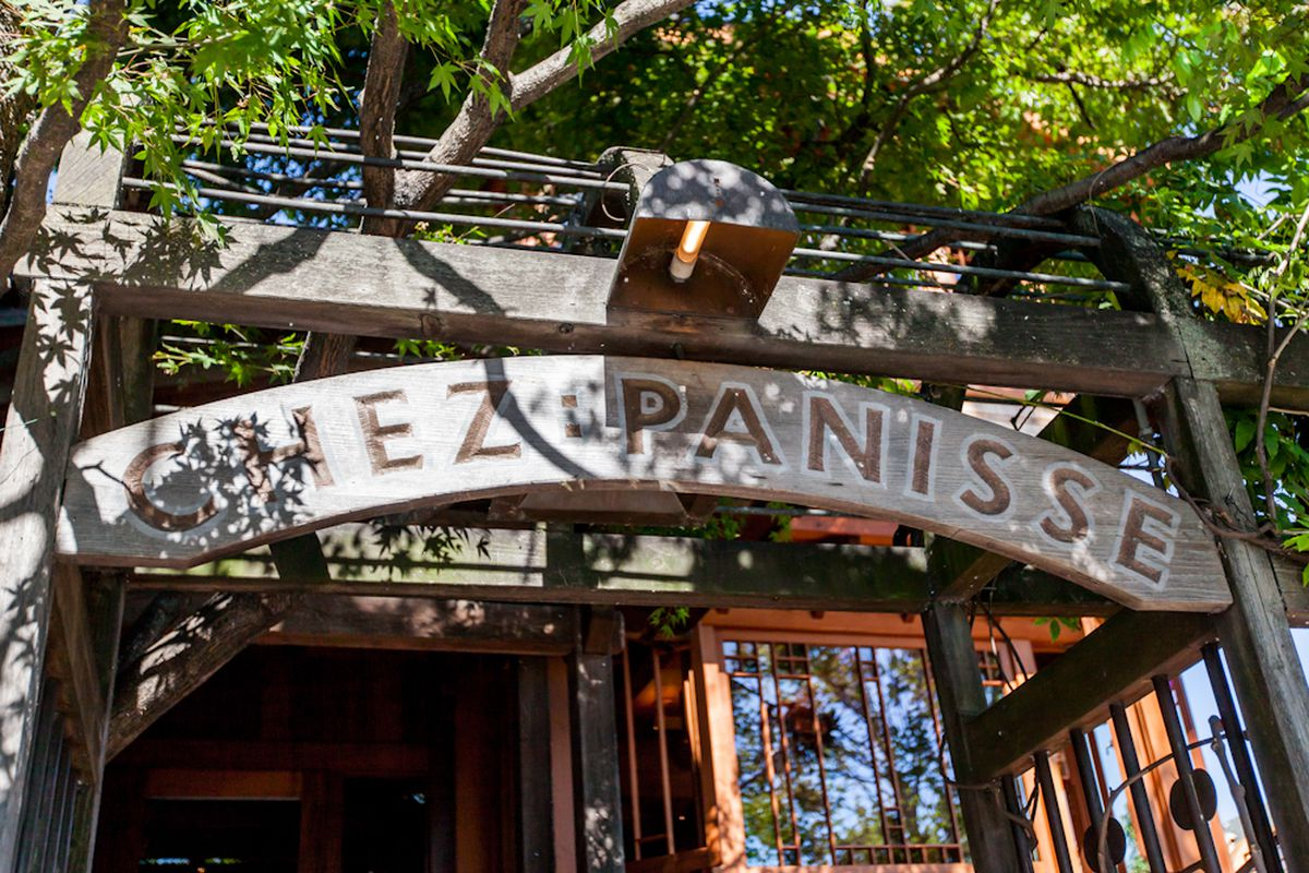 The Chez Panisse sign