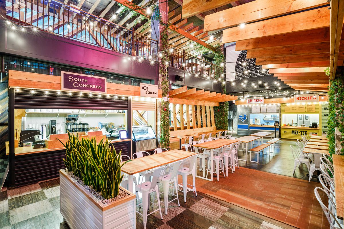 Hill Country Food Park Opens In Downtown Brooklyn With Breakfast