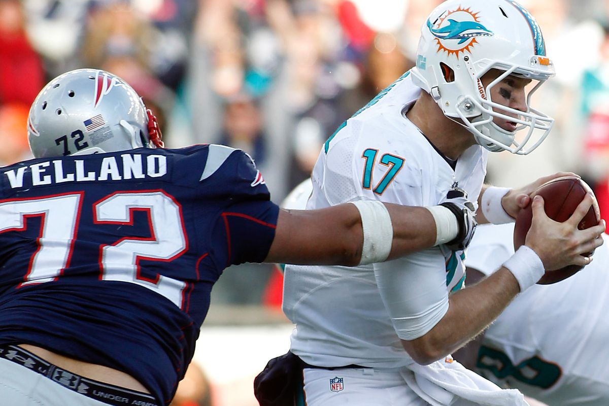 Joe Vellano gets a grip