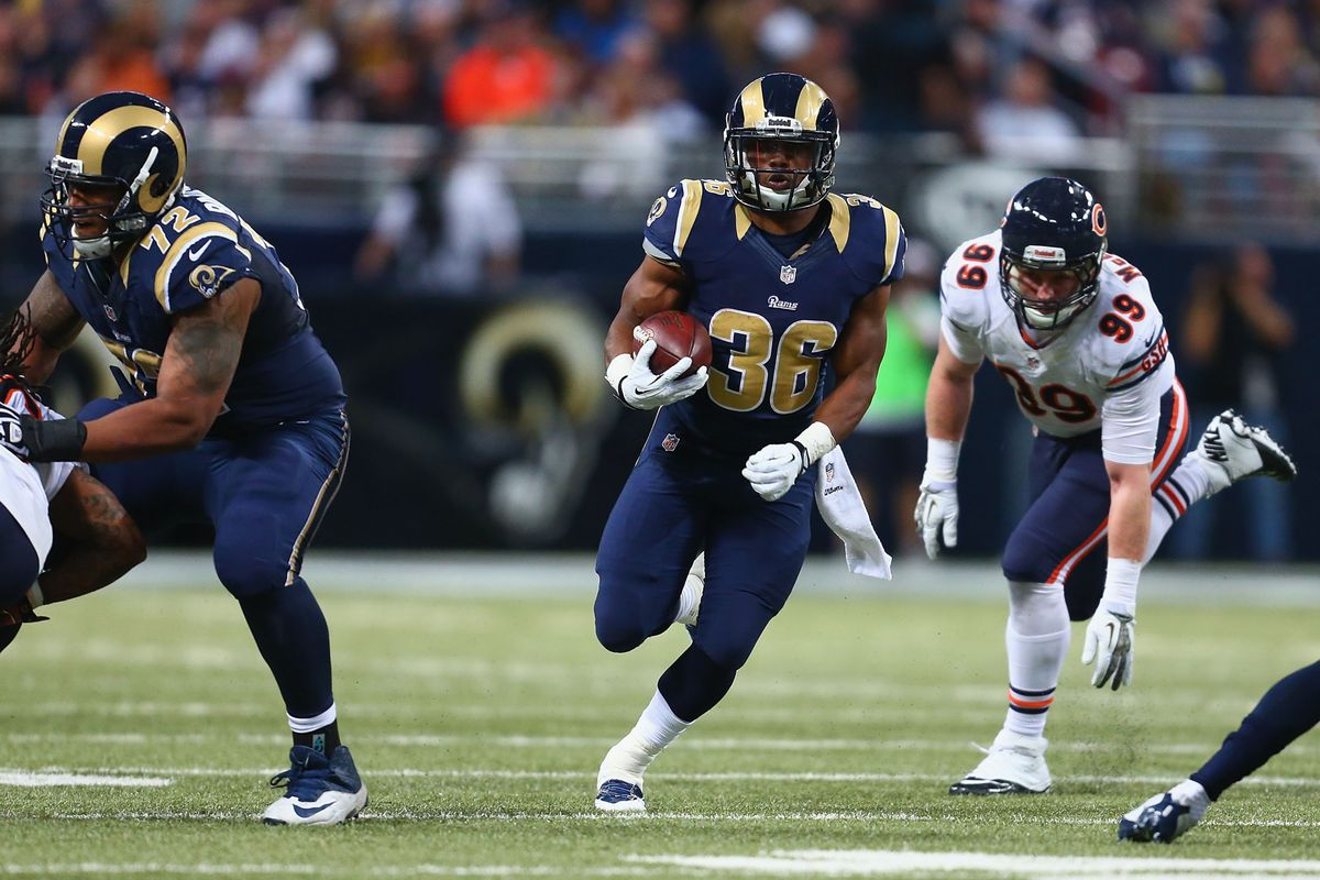 Middle Tennessee State University product Benny Cunningham is stepping up for the St. Louis Rams
