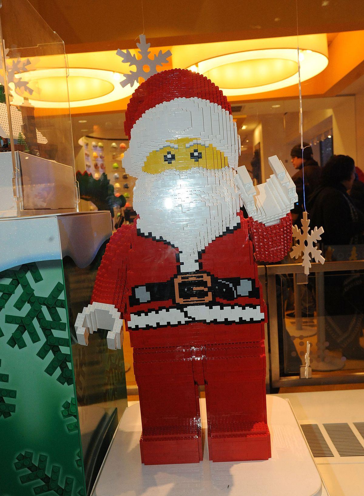 Lego Santa Christmas