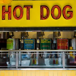 """<a href=""""http://ny.eater.com/archives/2014/08/new_york_hot_dog_best_nathans_famous_grays_papaya_coney_island_jumbo.php"""">How New York City Hot Dogs Conquered the Galaxy</a>"""