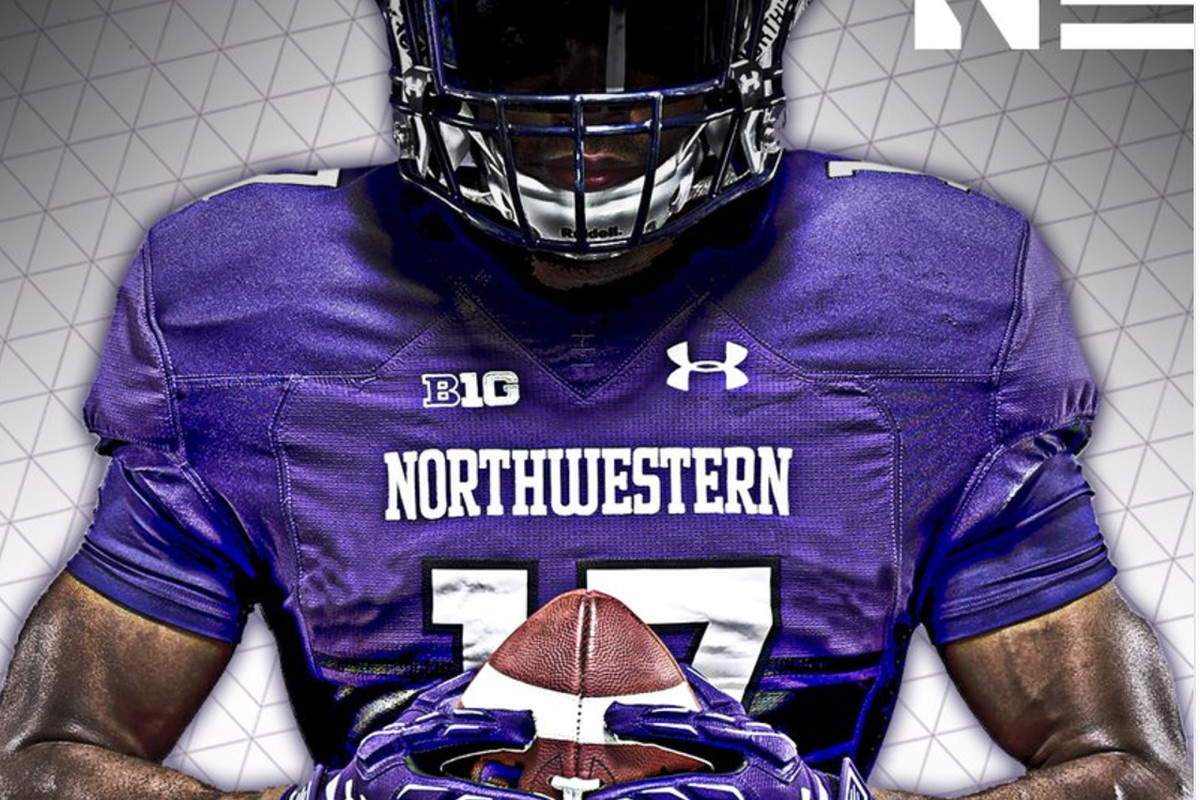 Northwestern releases all-purple uniform combination for Week 1 ... 3c1e4f707