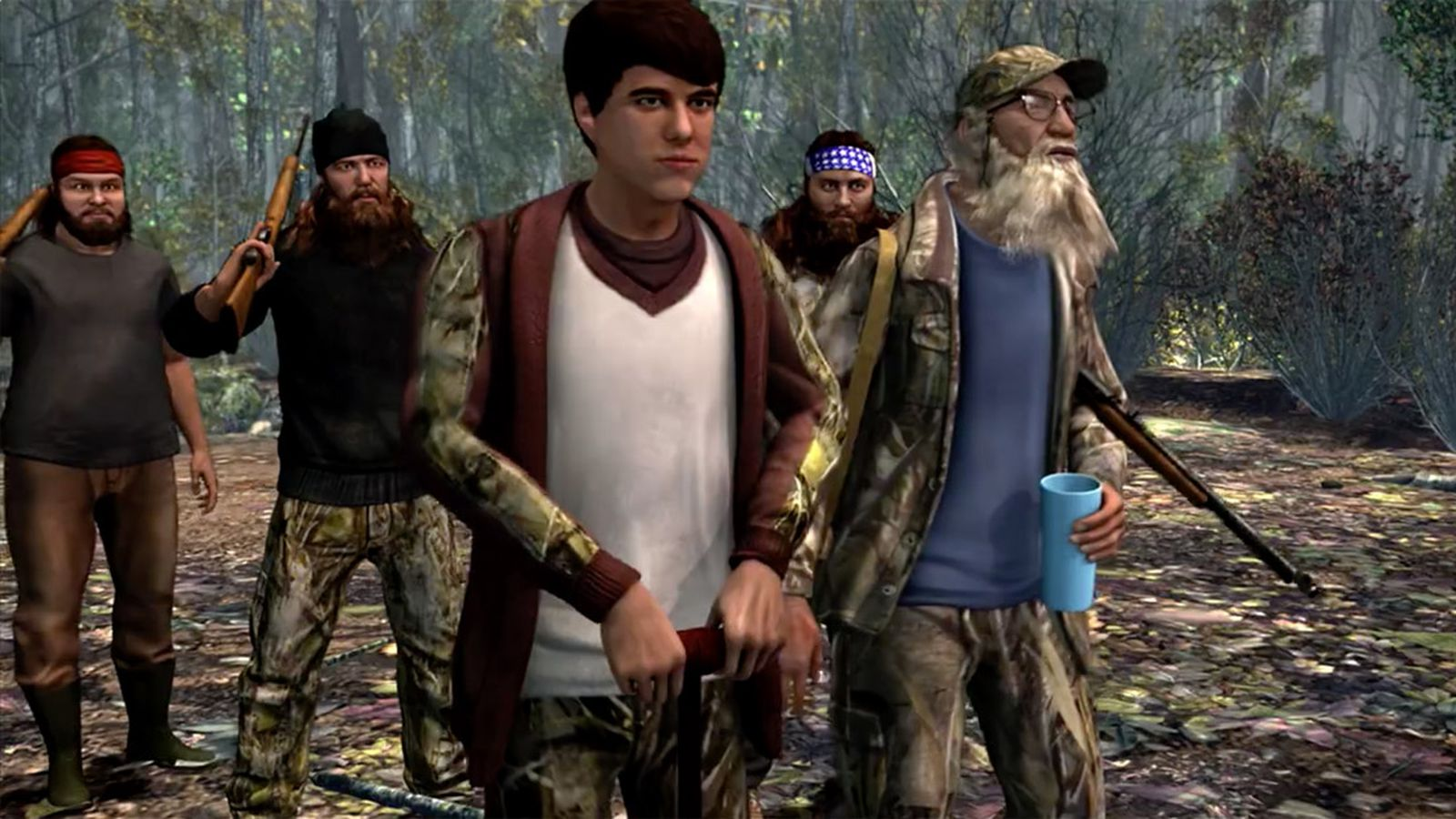 Activision is making a duck dynasty game polygon for Ps4 hunting and fishing games