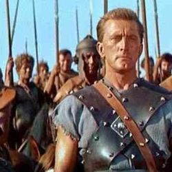 and yes, Kirk Douglas' armor from Kubrick's Spartacus!