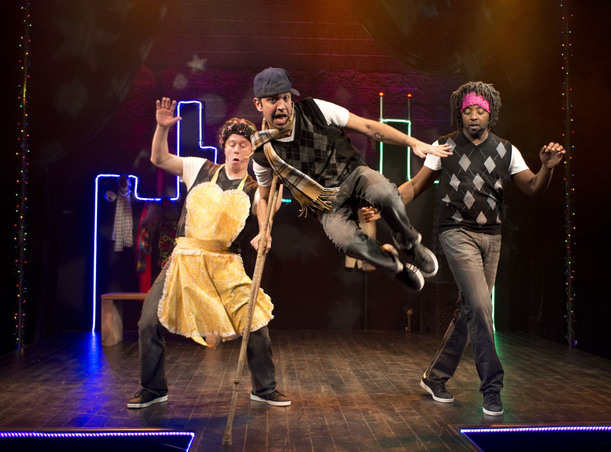 """The Q Brothers Christmas Carol"""" puts a hip-hop spin on the classic tale. 