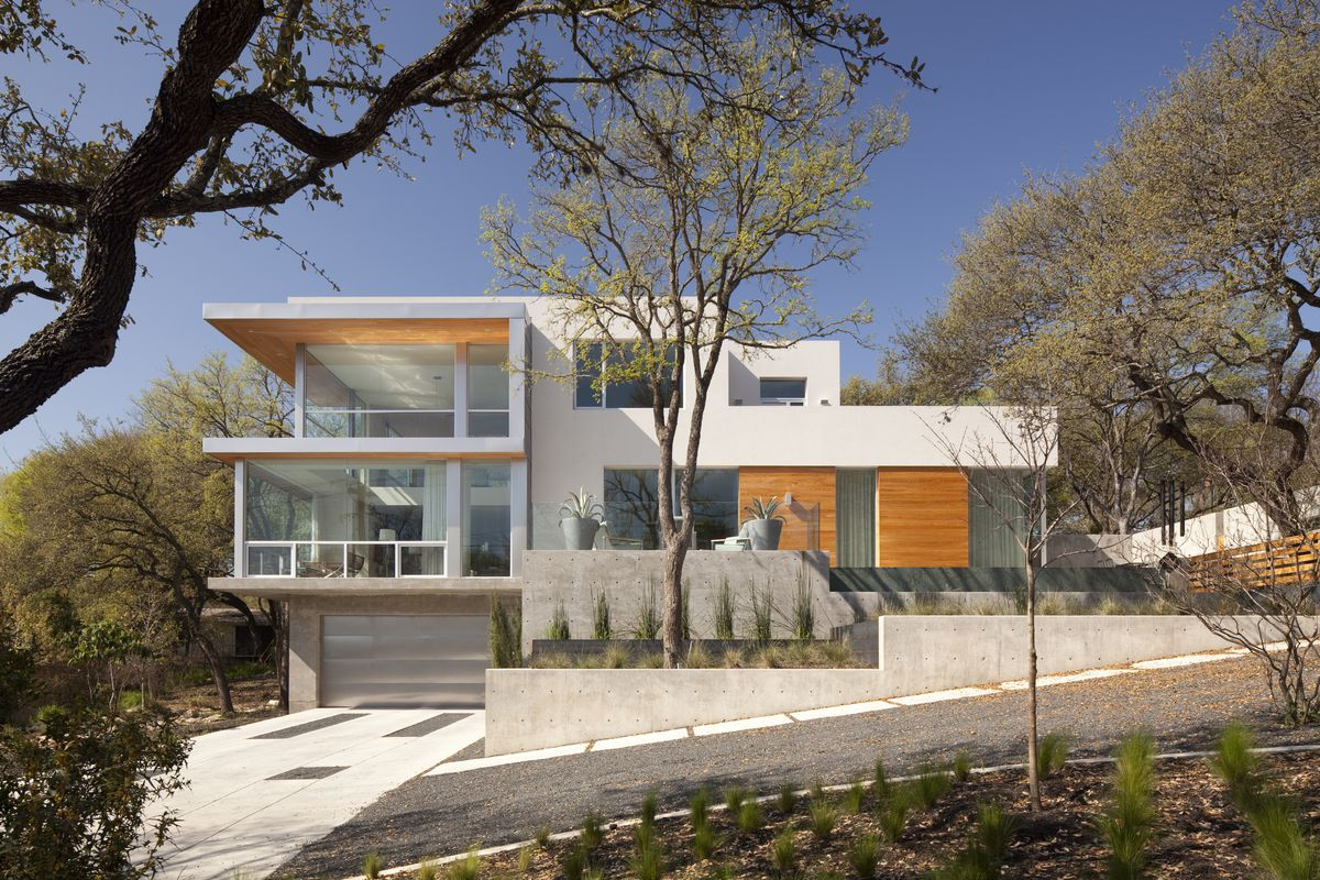 Cost to build a new house in austin - Influential Architect Dick Clark Helped Define The Look Of Austin
