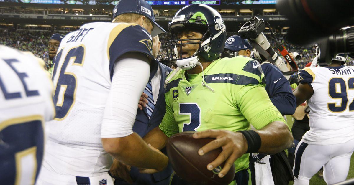 Sunday Night Football Live: Seahawks vs. Rams