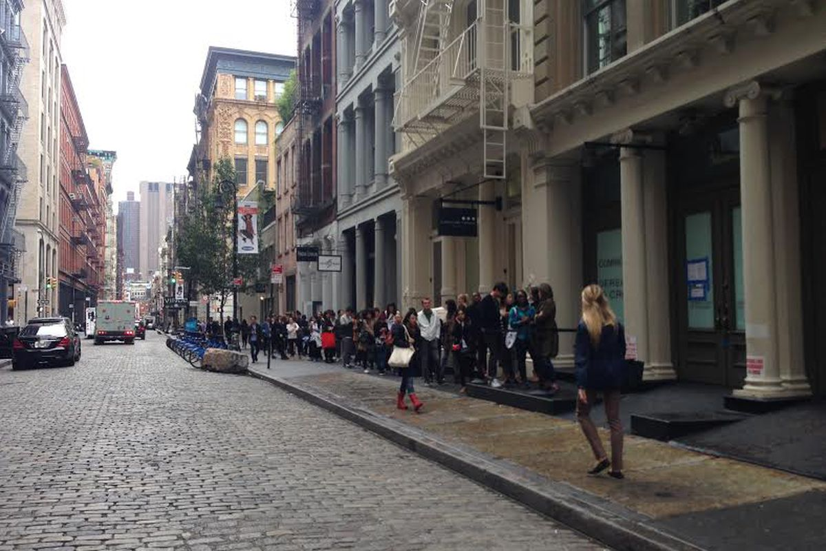 This Is the State of the 3.1 Phillip Lim Sample Sale Line - Racked NY