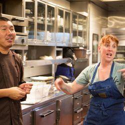 Bill Kim and Mindy Segal