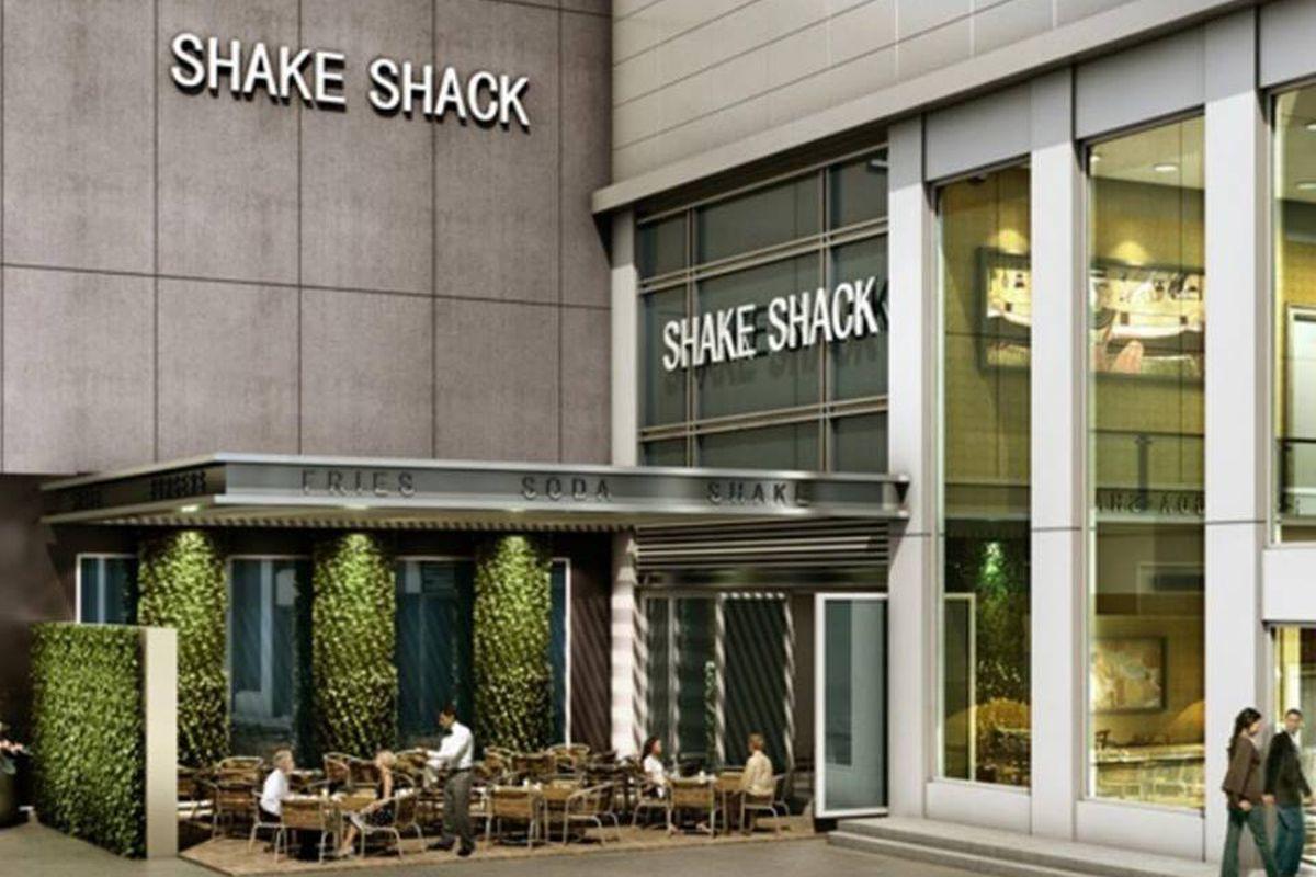 Rendering for Shake Shack Galleria